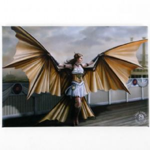 Anne Stokes-The Aviator- fridge magnet